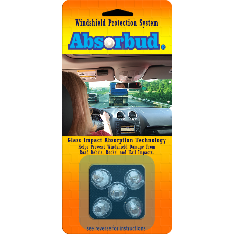 Absorbud Windshield Protection System