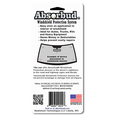 Absorbud Package back